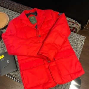 Canada Goose W1 Blazer x Henry Poole - red, small